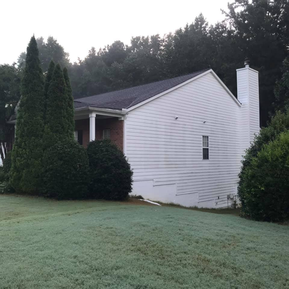 Residential House Exterior Cleaning in Atlanta, GA