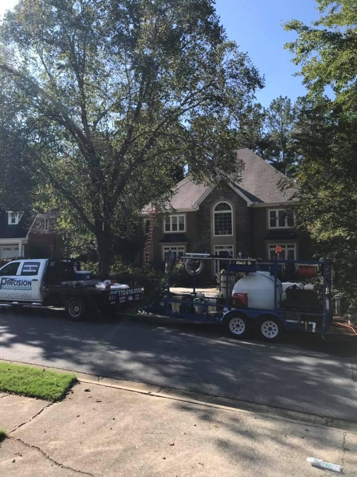 Brookstone Golf & Country Club Roof Washing in Acworth, GA