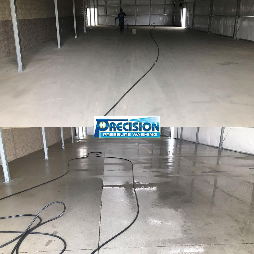 Commercial Pressure Washing for Tractor Supply in Dallas, GA