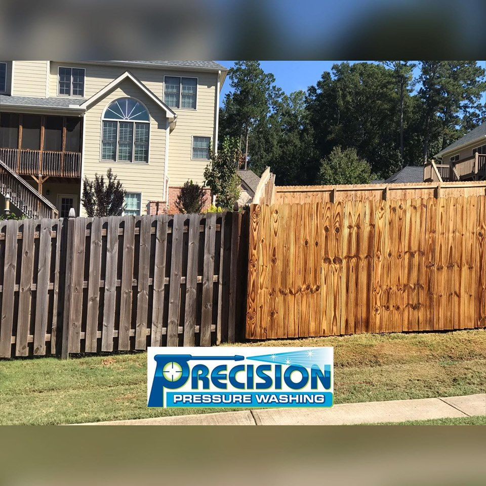 Low Pressure Fence Cleaning in Acworth, GA