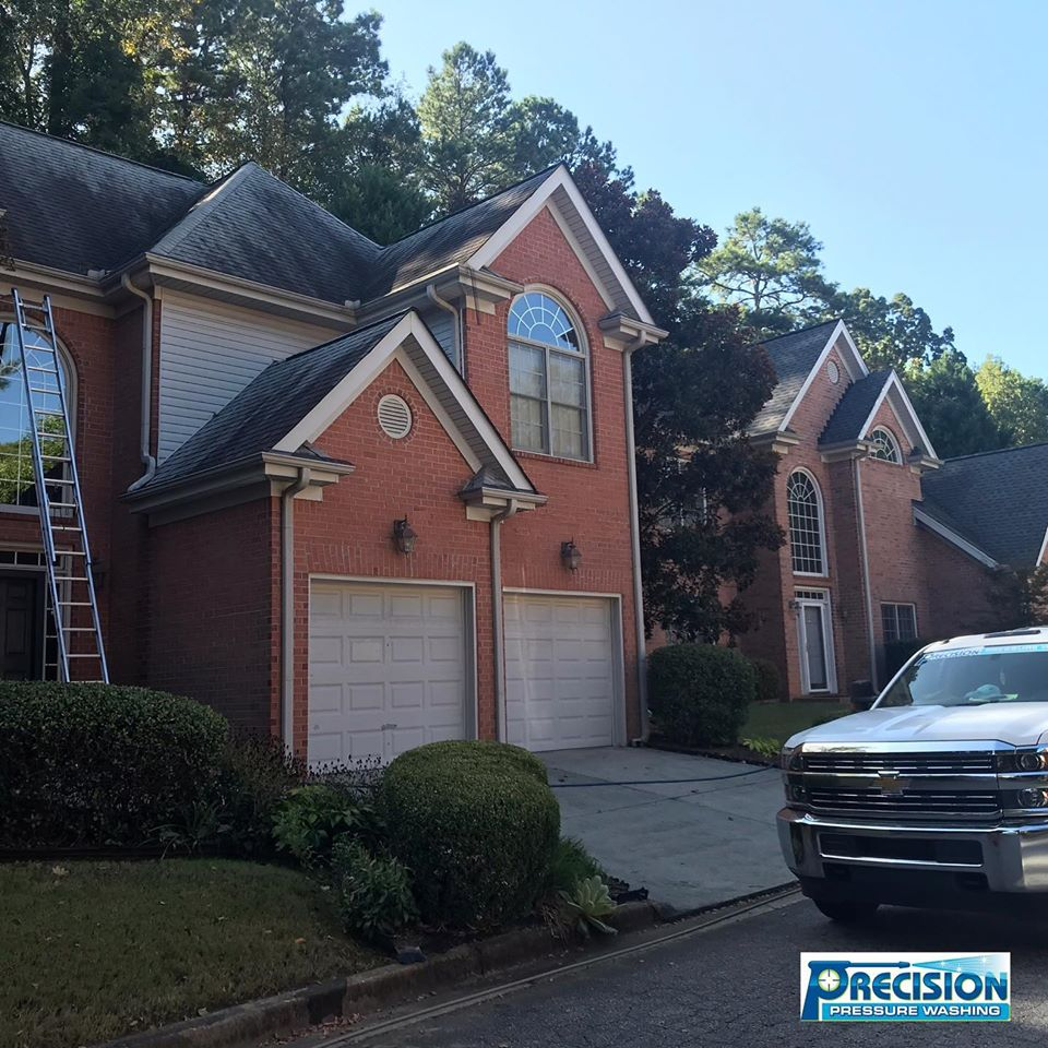 Roof Cleaning in Roswell, GA