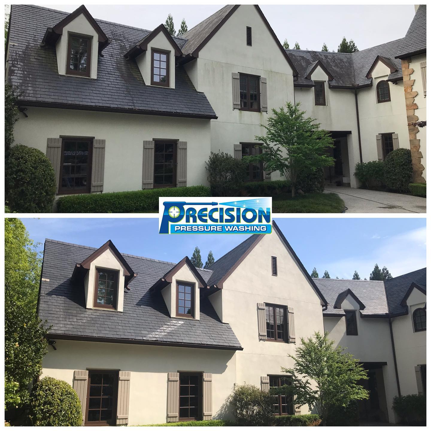 Slate Roof Cleaning in West Paces Ferry/Northside, Atlanta, GA