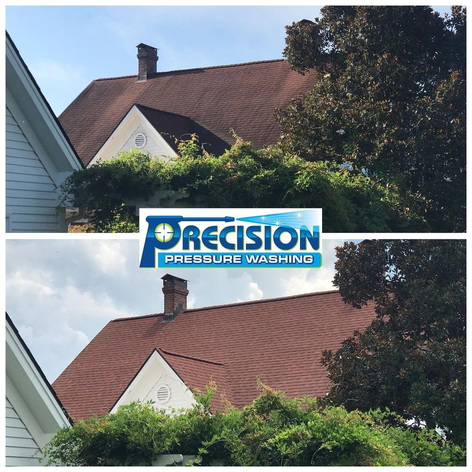Roof and Canopy Cleaning for Sweet Meadow Farms in Tallapoosa, GA