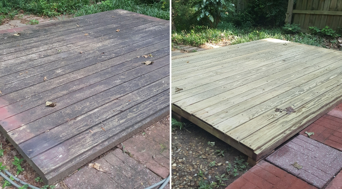 Deck Cleaning and Pressure Washing Atlanta GA